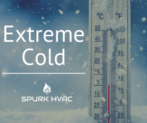 Heating your home in extreme cold